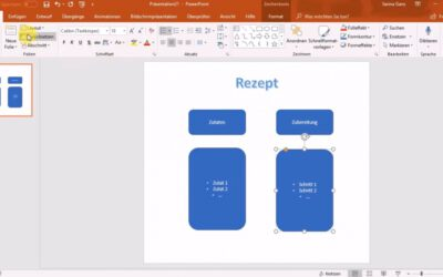 Video Tutorial: Infografik mit Microsoft Power Point