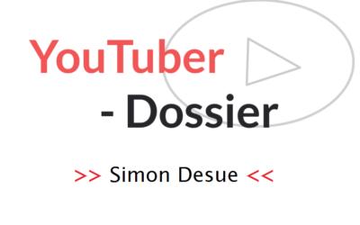Simon Desue – YouTuber-Dossier