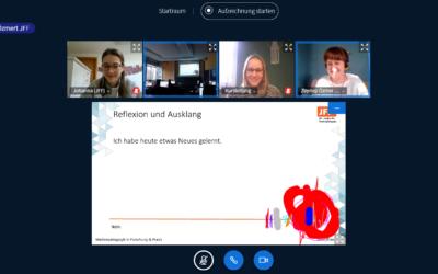 Online-Workshop zu Selbstdarstellung und Kommunikationsrisiken